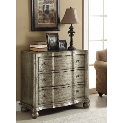 Hafley 3 Drawer Accent Chest