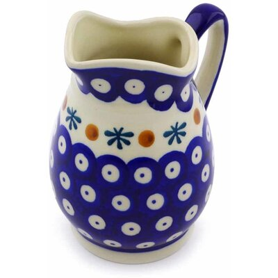 Polish Pottery 12 oz. Pitcher