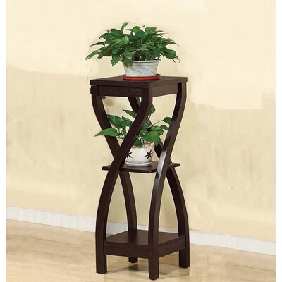 "Honeysuckle Design Small Plant Table Size: 37.75"" H x 11.5"" W x 11.5"" D"