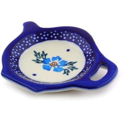 Polish Pottery Lemon Plate