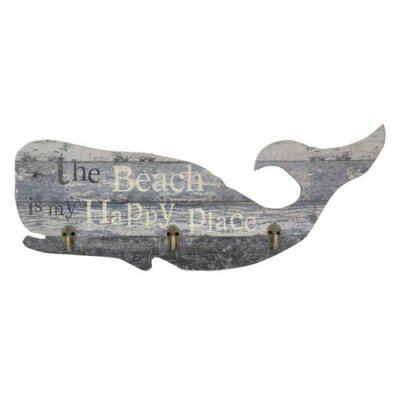 Williams The Beach Whale Wall Mounted Coat Rack