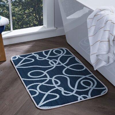 Finnigan Foam Core Comfort Bath Rug Size: 2' x 3'