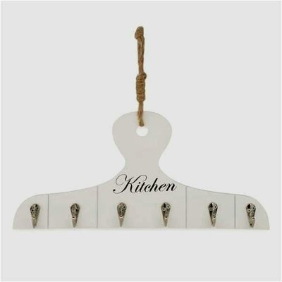 Stockdale Hanger Kitchen Wall Mounted Coat Rack