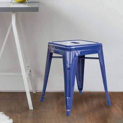 "Shelli 18"" Bar Stool Color: Blue"