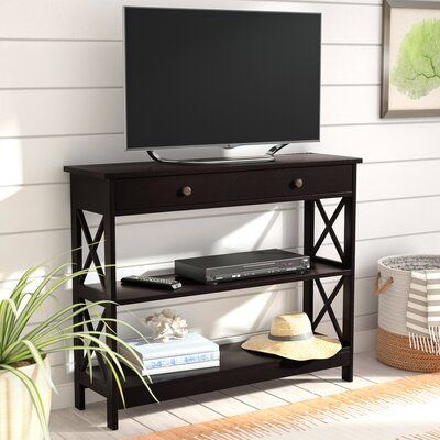 Gracelynn 1 Drawer Console Table Color: Espresso