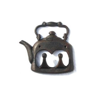Alegra Teapot Wall Hook