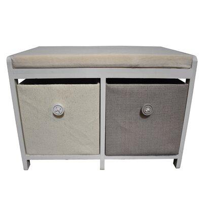 Baldric Wooden 2 Drawer Accent Cabinet