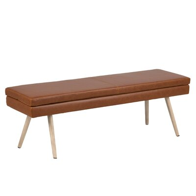 Naya Vintage Upholstered Bench