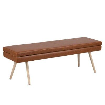 Naya Vintage Upholstered Bench