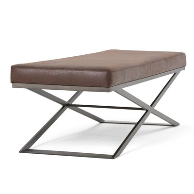 Cooper Ottoman Upholstery: Brown