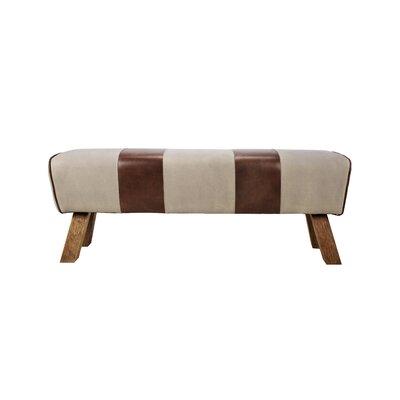 Caples Leather Bench