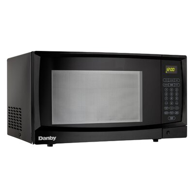 """21"""" 1.1 cu. ft. Countertop Microwave Finish: White"""