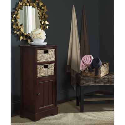 Dashwood 1 Door Accent Cabinet Color: Cherry