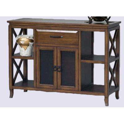 Almeida Wooden 1 Drawer Accent Cabinet