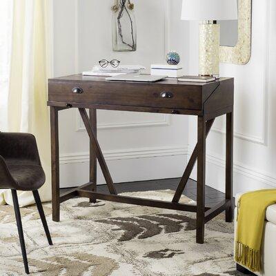 Somerton Hinged Hideaway Desk Color: Dark Walnut