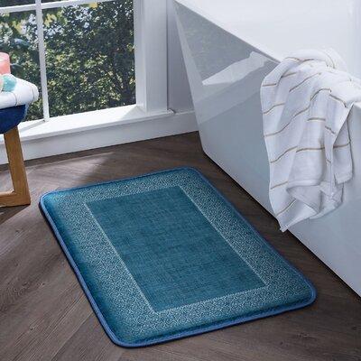 Faya Lacey Foam Core Bath Rug Size: 20'' x 30''