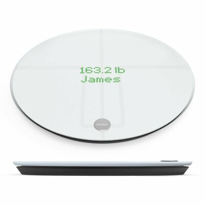QardioBase 2 Digital Scale Color: Arctic White