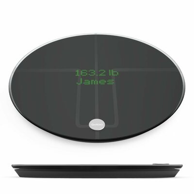 QardioBase 2 Digital Scale Color: Volcanic Black