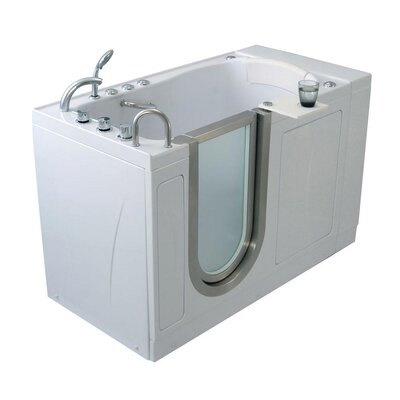 "Royal 38"" x 32"" Walk-In Combination Bathtub Type: Acrylic Microbubble Therapy"