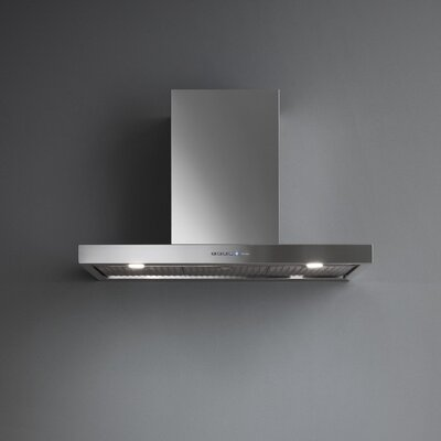 "36"" Silence-NRS Plane 500 CFM Ducted Wall Mount Range Hood"