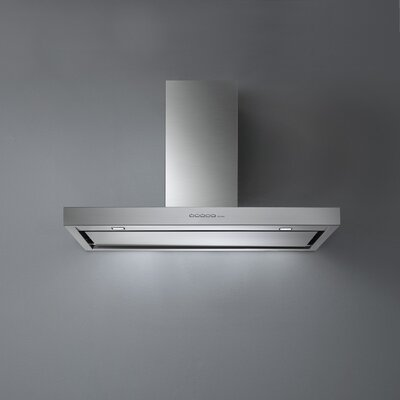 "48"" Fasteel Plane Top 500 CFM Ducted Wall Mounted Range Hood"