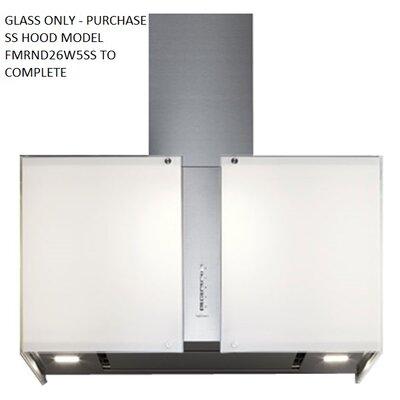 Mirabilia Maia Glass Accessory Square Range Hood Wall Cap