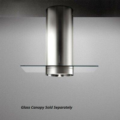 Polar Design Glass Wall Range Hood Roof Cap