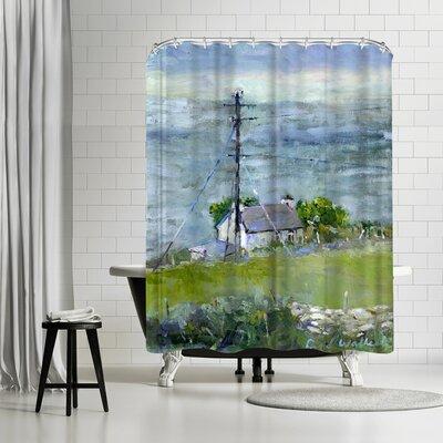 Richard Wallich Ireland Shower Curtain
