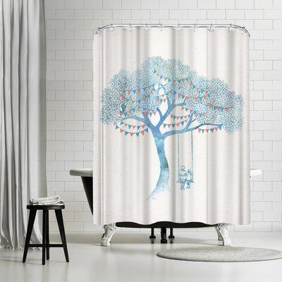 David Fleck The Start of Something Shower Curtain
