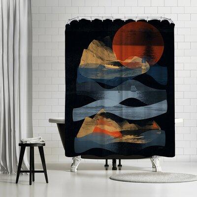 NDTank Descend Shower Curtain