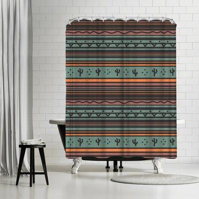 NDTank Desert Wind Shower Curtain