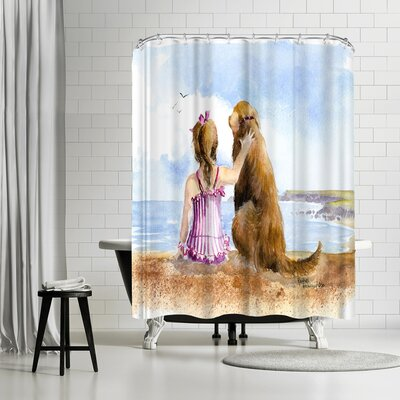 Rachel McNaughton a Girls Best Friend Shower Curtain