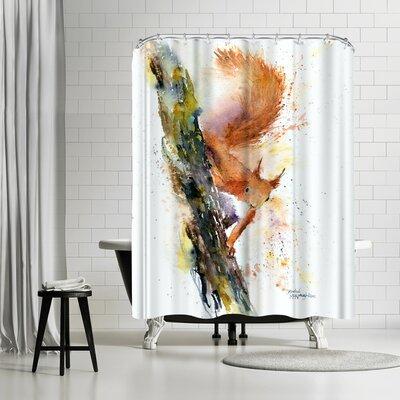 Rachel McNaughton Squirrel Shower Curtain