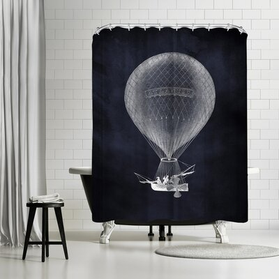 Adams Ale Shower Curtain