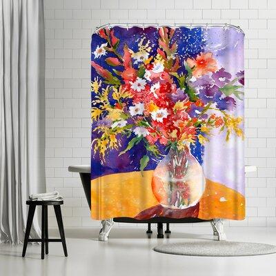 Sunshine Taylor Bursting Shower Curtain