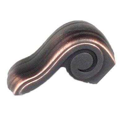 Volute Zinc Die Cast Finger Pull Finish: Regent Bronze/Copper