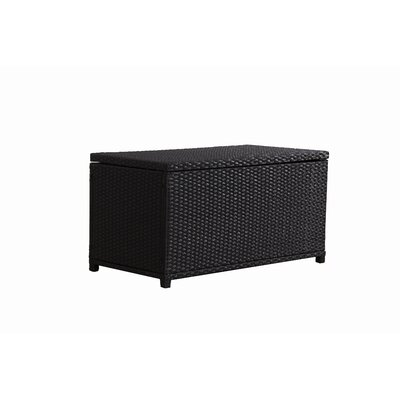 Cushion 47 Gallon Rattan Deck Box