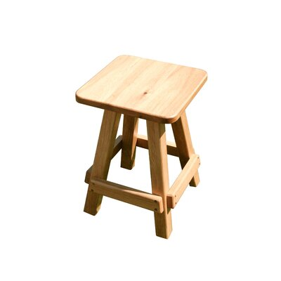 Langridge Oak Garden Stool Color: Natural