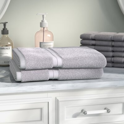 Patric Rayon from Bamboo Bath Towel Color: Chrome