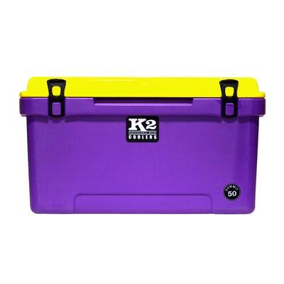 50 Qt. Summit Lid Cooler Color: Purple/Yellow