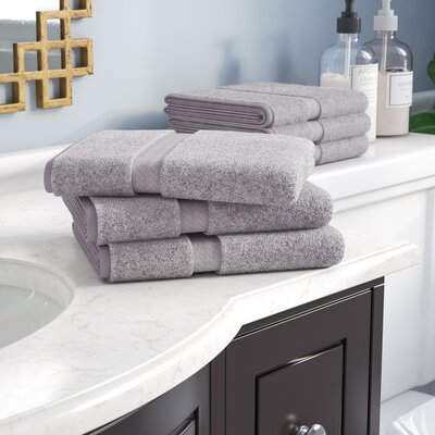 Patric Rayon from Bamboo Hand Towel Color: Chrome