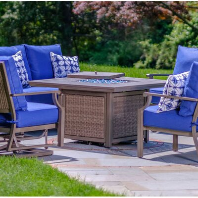 Marco Bay Aluminum Propane Fire Pit Table