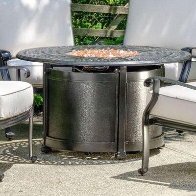 Lisbon Aluminum Propane Fire Pit Table