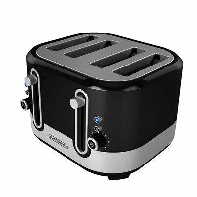 4-Slice Extra-Wide Slot Toaster
