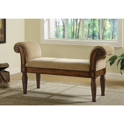 Krogman Robust Upholstered Bench