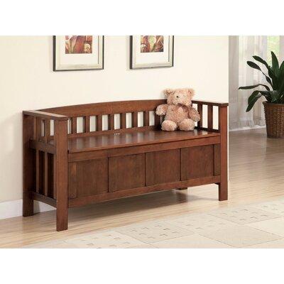 Kenworthy Functionally Charmed Wood Storage Bench
