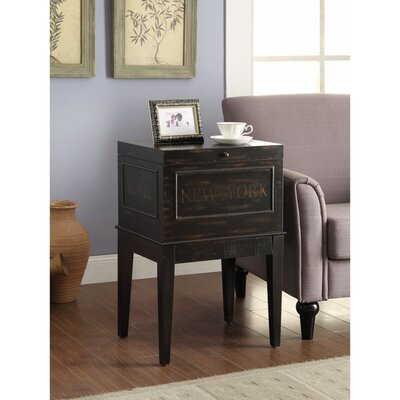 Beckles Wooden Accent Cabinet
