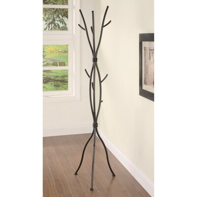 Weishaar Twig Style Metal Coat Rack