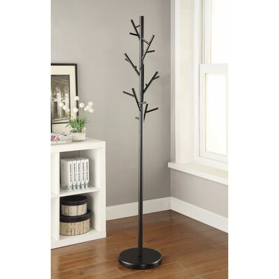 Pinson Shiny Twig Style Metal Coat Rack