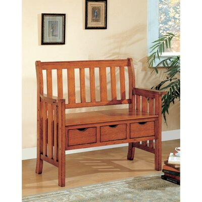 Kersten Wood Storage Bench